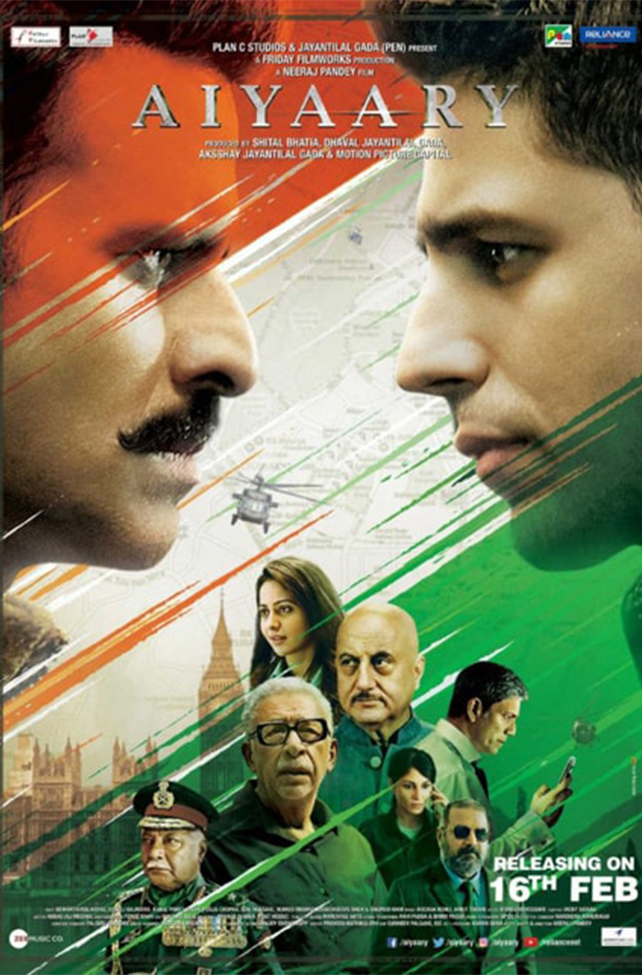 Aiyaary - Drama-Crime Movie
