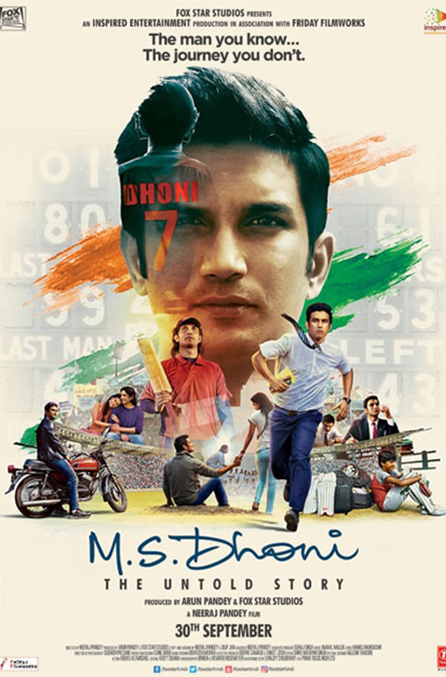 M.S.Dhoni: The Untold Story - Drama - Bollywood Movie