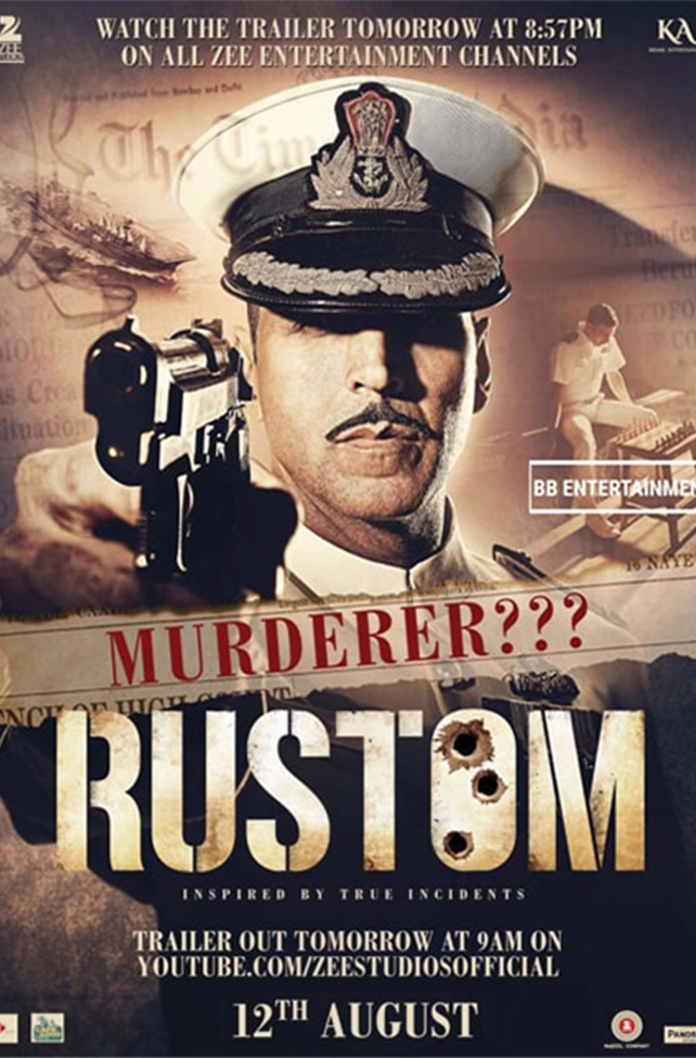 Rustom - Crime thriller Movie